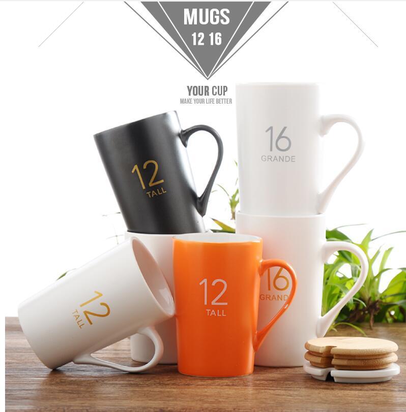 创意陶瓷杯马克杯定制陶瓷杯子